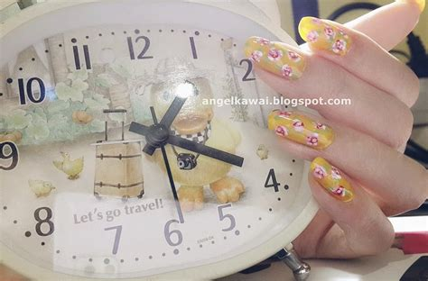 tutorial nail art yang simple angelkawai s diary simple nail art tutorial rose