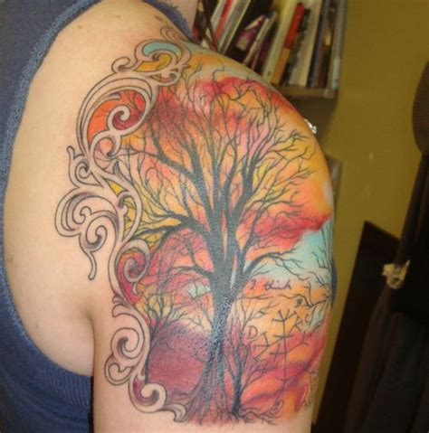 quarter sleeve forest tattoo 25 best dragon art images on pinterest batman coloring
