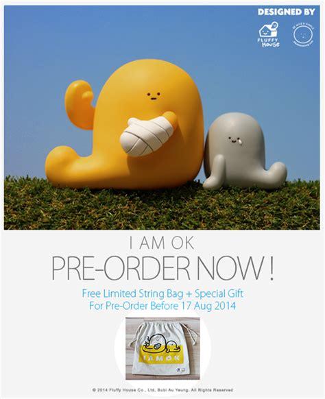 I Am Ok Figure Set By Fluffy House And Bubi Au Yeung vinyl pulse bubi au yeung x fluffy house i am ok pre order info