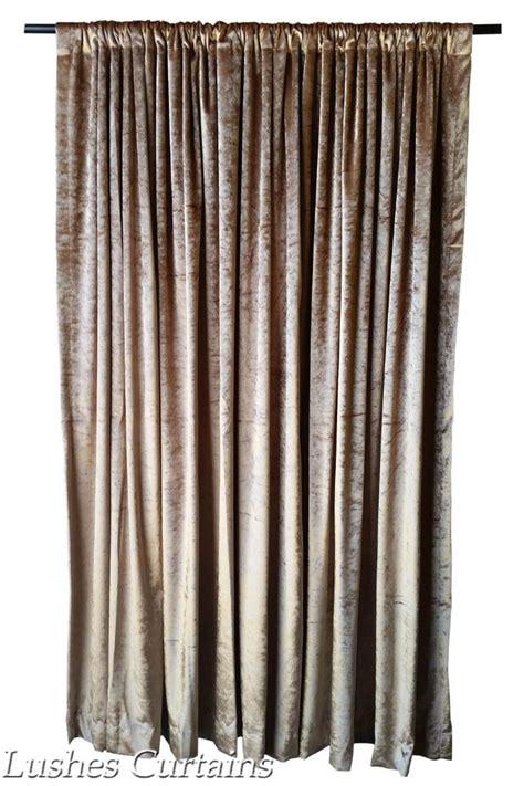 velvet thermal curtains gold velvet curtain 96 quot h thermal window treatment panel