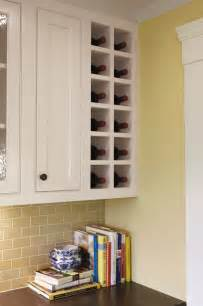 Kitchen Wine Rack Ideas by Kitchen Decorating In Traditional Style Using Glass