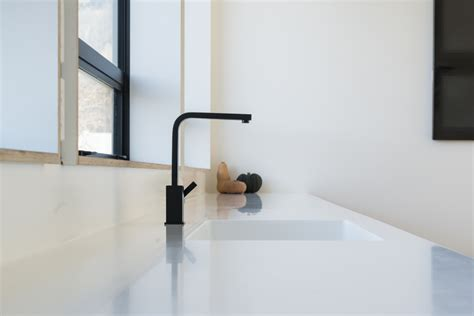 corian bench top corian benchtop with seamless integration of features by