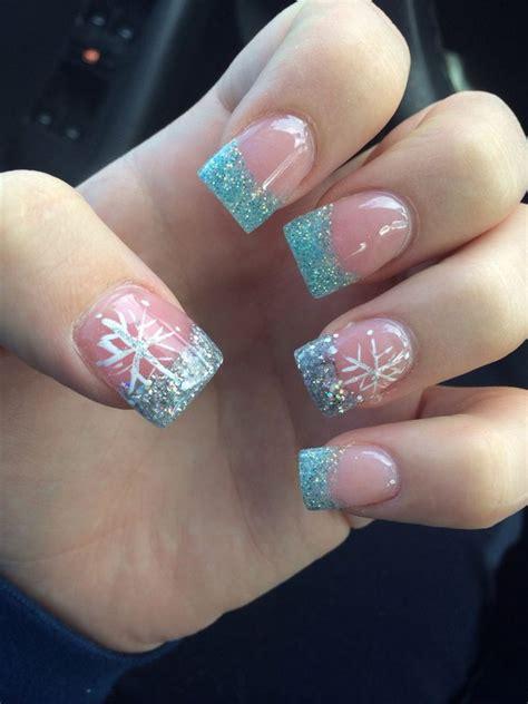 2018 christmas nails theme 50 festive nail designs