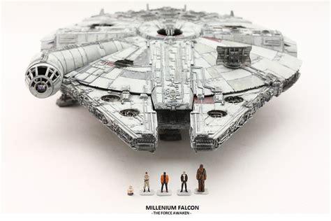 1 144 Millenium Falcon The Awakens charistma s work bandai x wars the awakens 1 144 millennium falcon