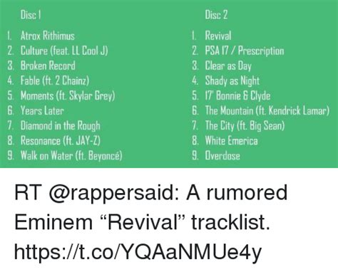 eminem revival tracklist 25 best memes about diamond in the rough diamond in the
