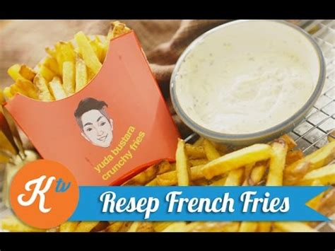 membuat kentang goreng ala mcd resep kentang goreng ala mcd french fries recipe yuda