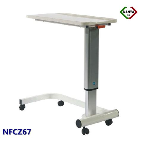 hospital table on wheels nfcz67 adjustable hospital bedside tables with wheels