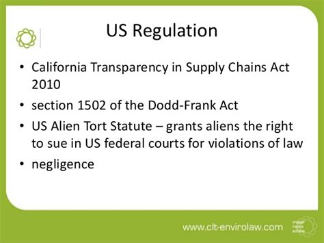 dodd frank act section 1502 human rights and business compliance and beyond