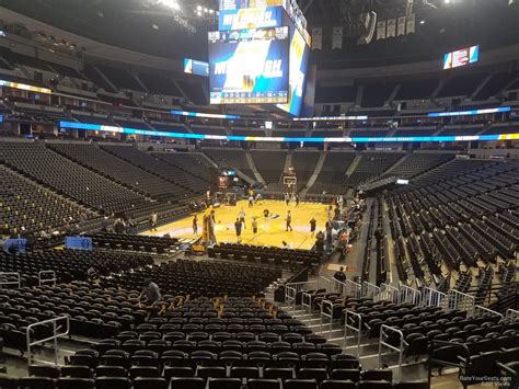 pepsi center sections pepsi center section 110 denver nuggets rateyourseats com