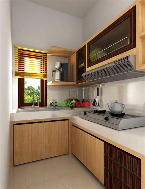desain dapur mungil bentuk l dapur ide kreasi rumah