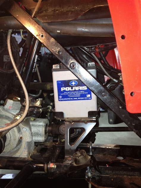polaris sportsman ho battery removal polaris atv forum
