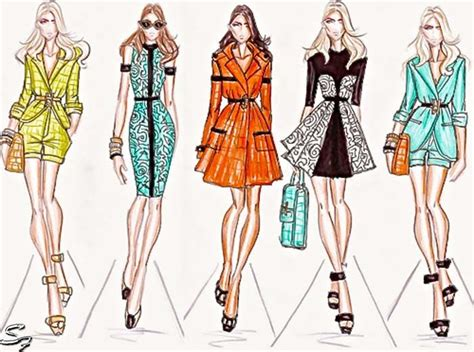 fashion illustration model 17 best images about girly sketch on fashion