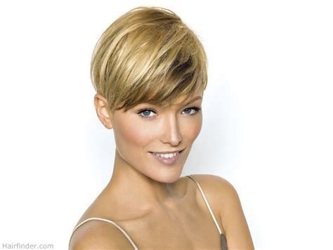 womens hair shaved just above ears short haircut with the length above the ear and an ultra