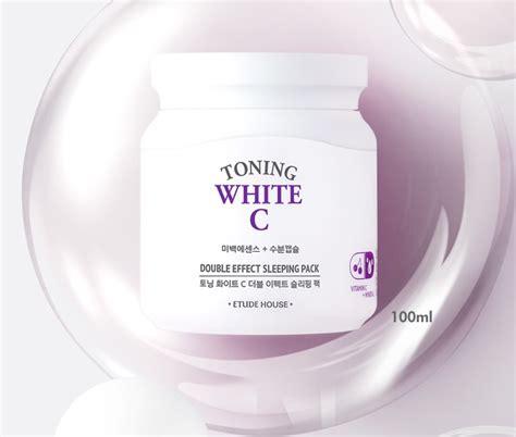 Etude Toning White C etude house toning white c effect sleeping pack