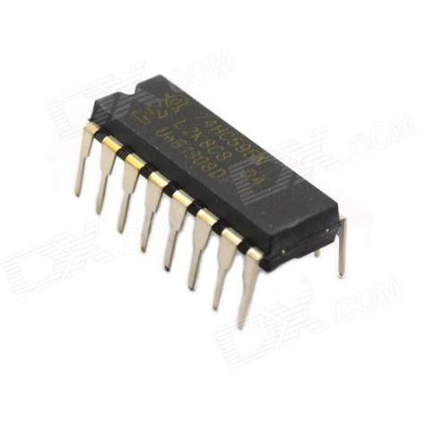integrated circuit dip jtron ic integrated circuit 74hc595n dip 16 black 5 pcs free shipping dealextreme