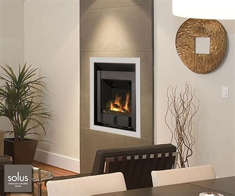 electric fireplace built into the wall decor
