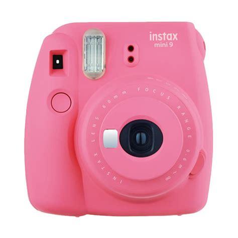 Kamera Fujifilm Mdl 9 jual fujifilm instax mini 9 kamera polaroid flamingo pink free instax mini