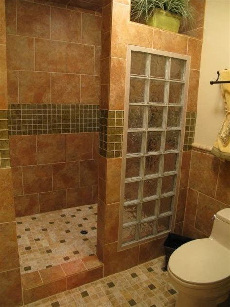 B And Q Walk In Showers by 17 Best Ideas About Glass Block Shower On