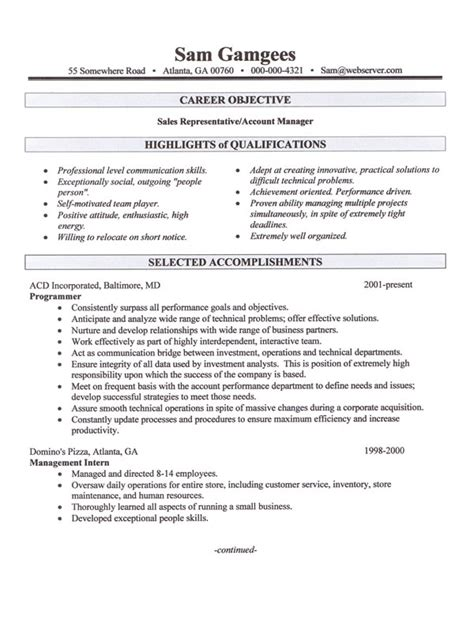 career change resume sle 28 images change manager resume sales management lewesmr career