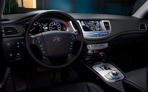 2014 hyundai genesis sedan interior top auto magazine
