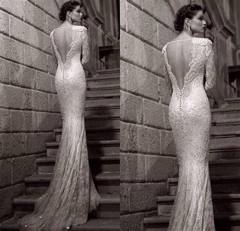 Tight backless wedding dress   Beautiful weddings