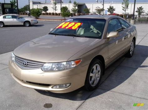 2002 Toyota Camry Solara 2002 Toyota Solara I Coupe Pictures Information And