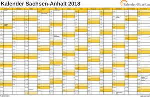 Kalender 2018 Ferien Feiertage Sachsen Anhalt Feiertage 2018 Sachsen Anhalt Kalender