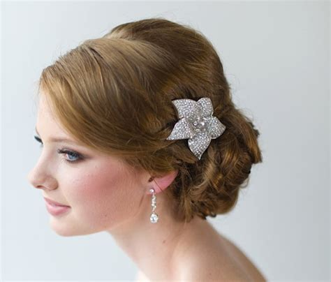 Wedding Hair Clip Etsy by Bridal Hair Clip Wedding Hair By Powderbluebijoux