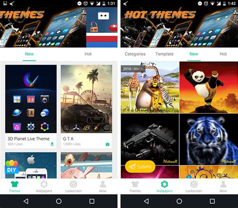 launcher themes for mobile app review cheetah mobile 3d launcher different launcher