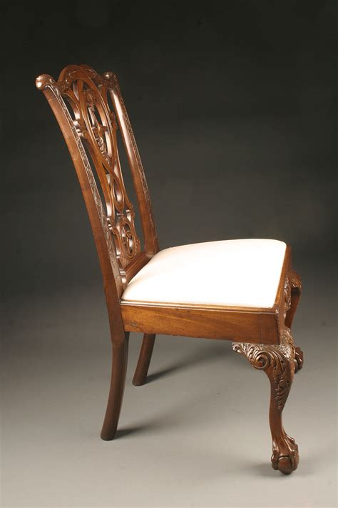 Chippendale Chairs Antique by Antique Chippendale Style Side Chairs