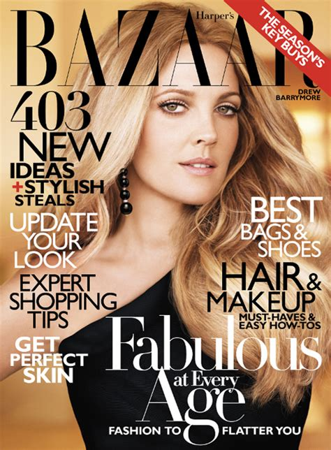 Drew Barrymore Looking Pretty On The Cover Of Janes March Issue by Want To Drew Barrymore S Gorgeous S