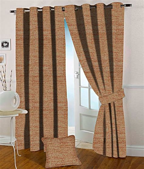 orange and beige curtains presto orange and beige abstract polyester window curtain