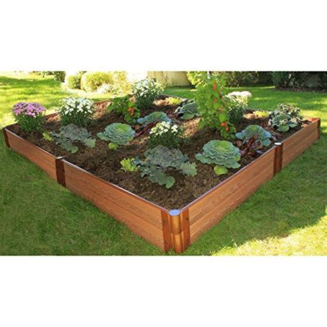 frame it all 1 inch series composite raised garden bed kit