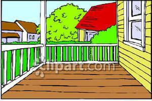 porch cliparts