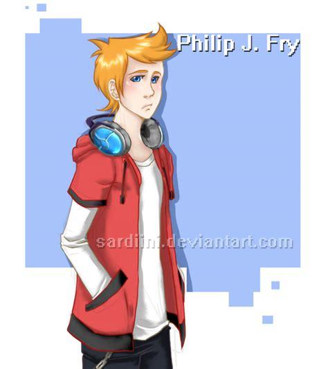 how to do philip j fry hairstyle futurama philip j fry by sardiini on deviantart