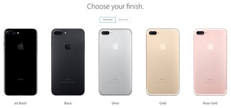 apple iphone colors apple inc nasdaq aapl jet black iphone 7 can t keep up
