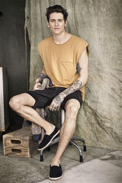 boy models 2014 leebo freeman for h m lookbook summer 2014