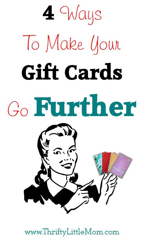 ways to make cards 4 ways to make your gift cards go further 187 thrifty