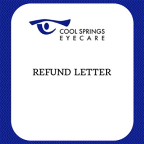 Patient Refund Letter Insurance And Accounting Doctors Help Doctors