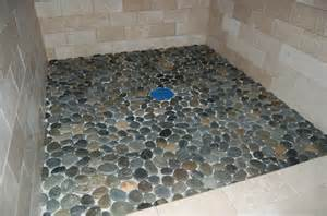 pebble tiles for shower floor tile and trim modern craftsman style home