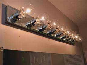 Diy Bathroom Light Fixtures How To Replace A Bathroom Light Fixture How Tos Diy