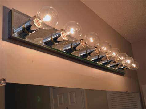Light Bulbs For Bathroom How To Replace A Bathroom Light Fixture How Tos Diy