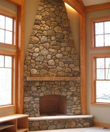 stone corner fireplace corner stone fireplace all wall high for the home