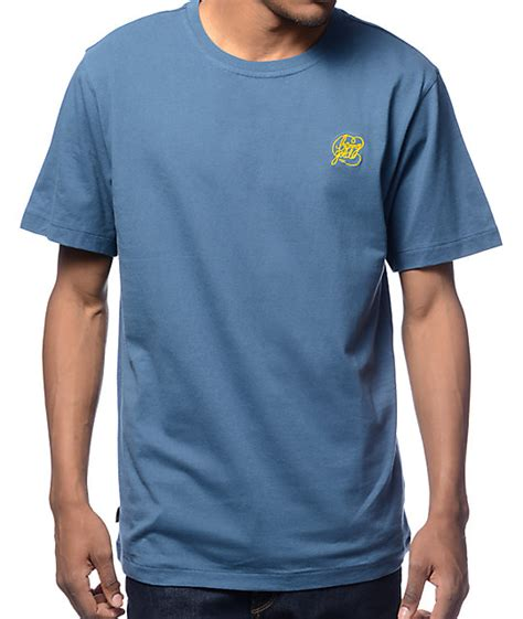 Kaos T Shirt Gold Premium benny gold premium script logo navy t shirt