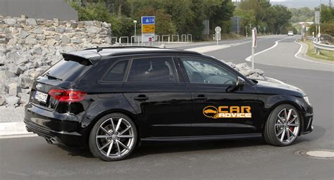 audi rs3 performance hatch test mule spied photos 1 of 7