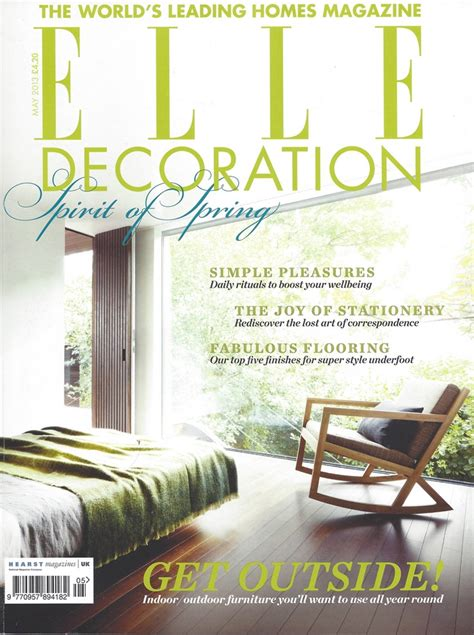 elle decor magazine elle decoration magazine elle interior design magazine