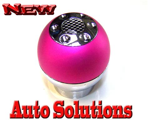 Pink Shift Knob pink gear shift knob fit ford holden ebay