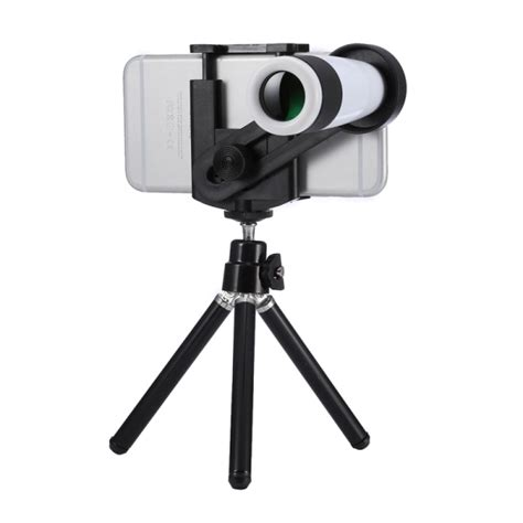 universal 12x zoom optical telescope telephoto lens kit for iphone 6s 6s plus iphone 6