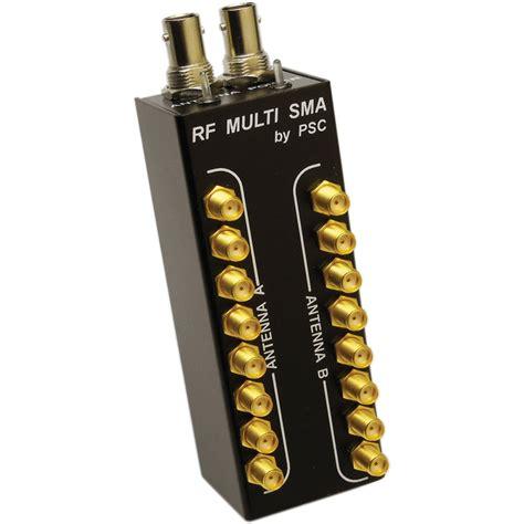 Two Psc L S Vierra psc rf multi sma dual 1 x 8 antenna splitter fpsc0006c b h