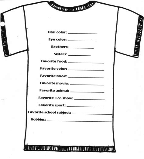 tshirt order form template t shirt order form template free images